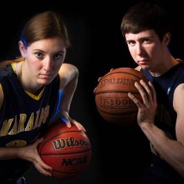 Dramatic Sports Portraits