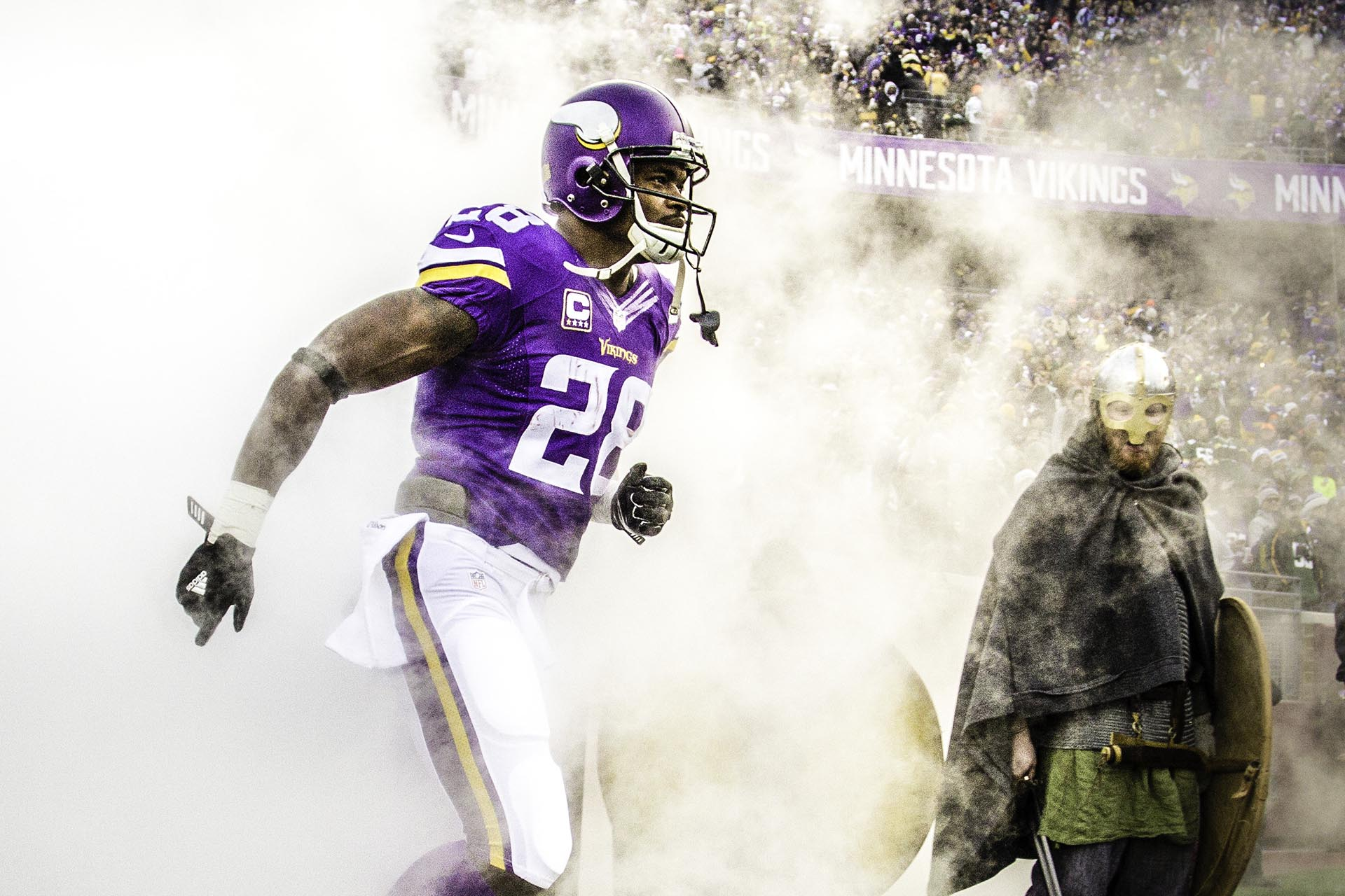Pro Bowl Running Back Adrian Peterson