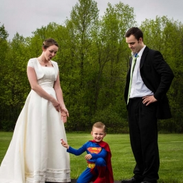 Funny Wedding Photographe