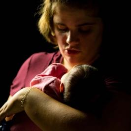 Infant Mother Portrait