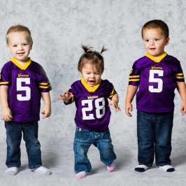 NFL Kids Portraits