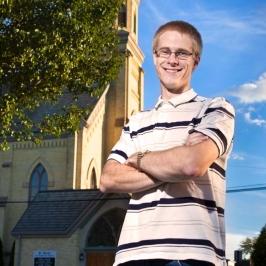 Senior Portrait Church