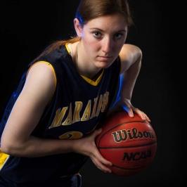 Womens Portrait Basketball