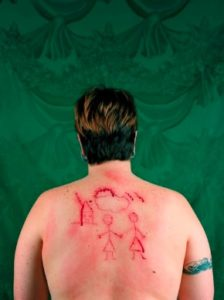 Self-Portrait/Cutting by Catherine Opie