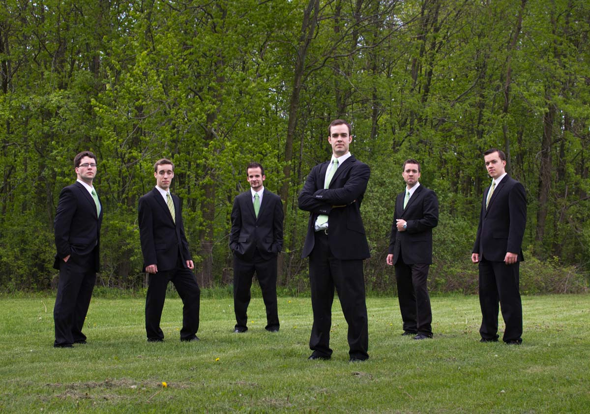 Men Wedding Portrait