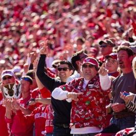 Wisconsin Badgers football fan