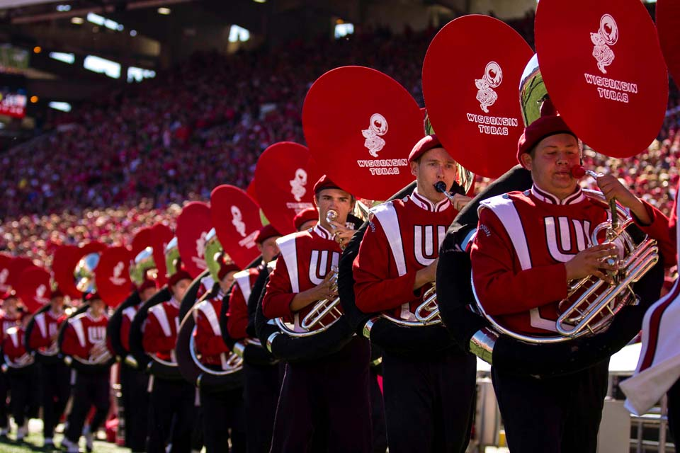 Wisconsin Badgers Tubas