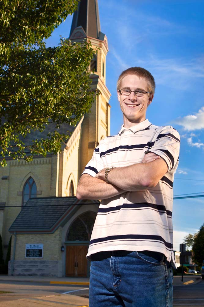 Senior Portrait Church