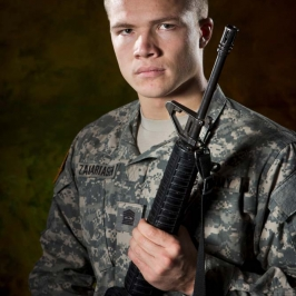army military portrait