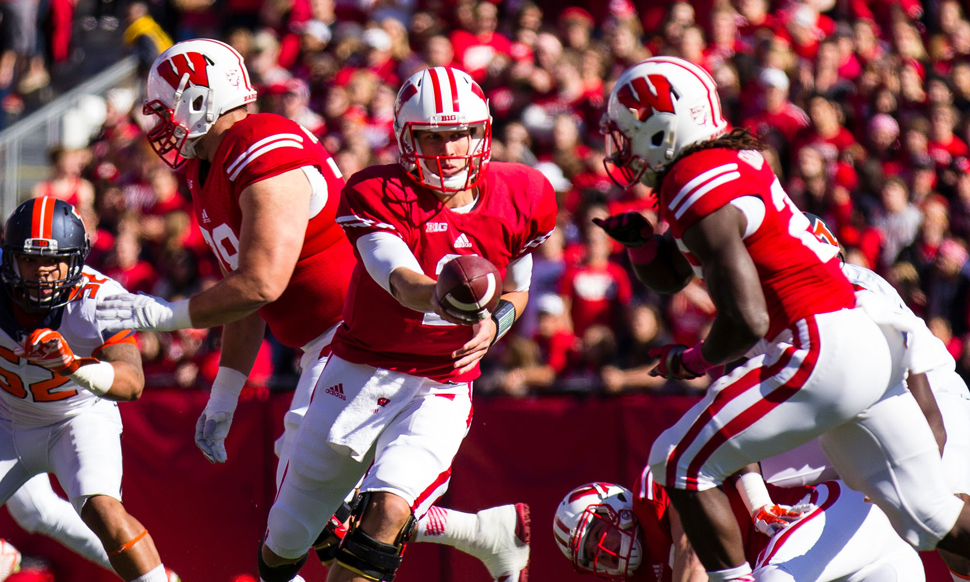 Wisconsin Badgers Football Photographer